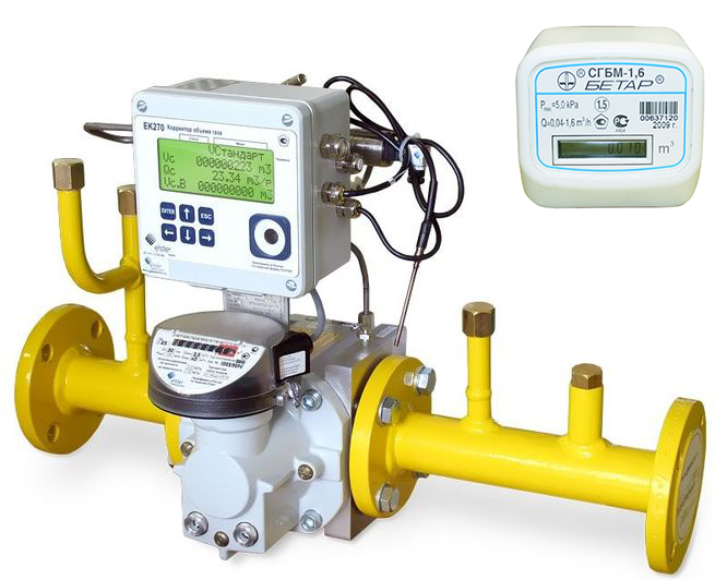 Газовые счетчики и измерительные комплексы