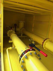 Установка газорегуляторная шкафная с узлом учета УГРШ-50Н(В)-2-ЭК, ШЗР