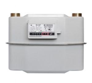 Диафрагменные счетчики газа с механической термокомпенсацией ВК-G4T, BK-G6T, BK-G10T