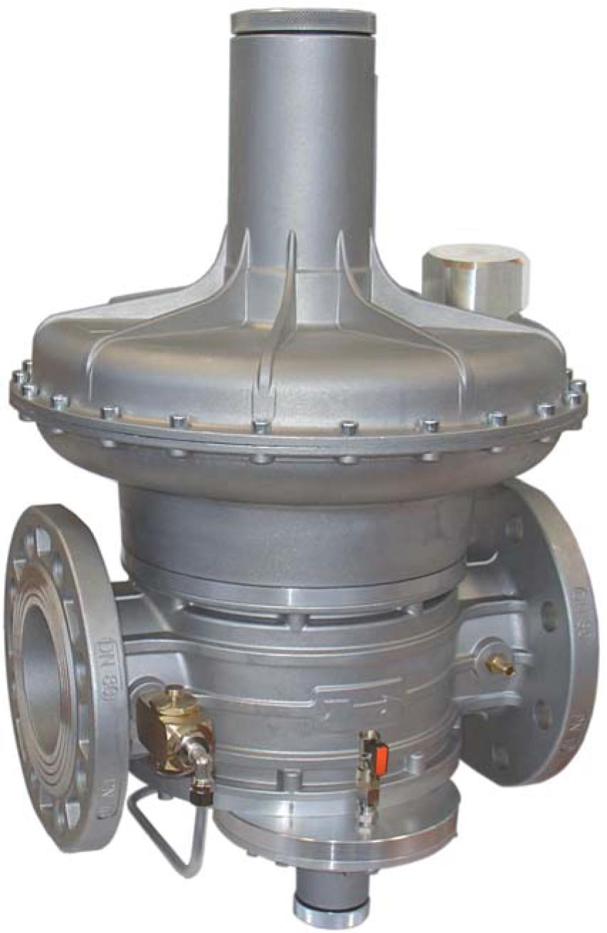 Регулятор RG/2MВZ Ду 50  P.МАКС 6 бар (32-60МБАР) 130 фл