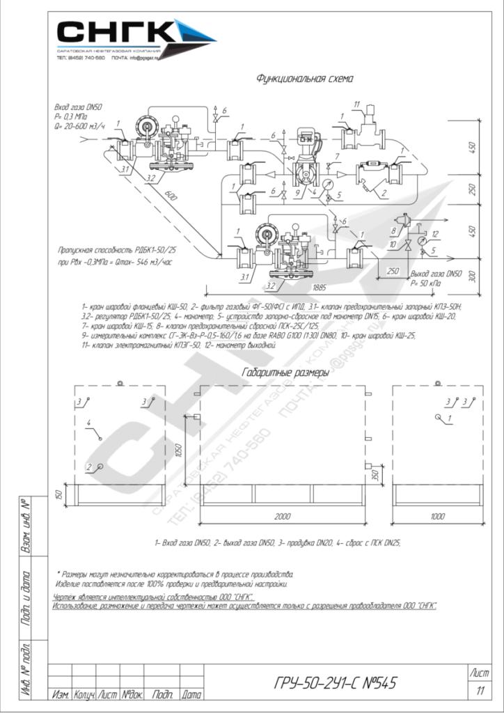 Газорегуляторные установки c узлом учета ГРУ-04-2У1, ГРУ-05-2У1, ГРУ-07-2У1, ГРУ-02-2У1, ГРУ-03М-2У1, ГРУ-03БМ-2У1, ШЗР(Р)